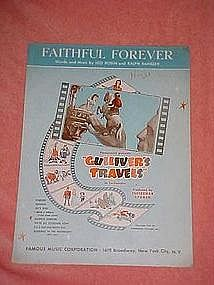"Faithful Forever, from ""Gullivers Travels"" 1939"