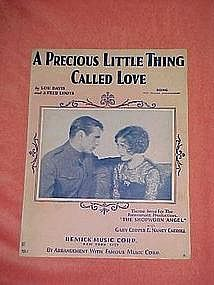 A Precious Little Thing Called Love, music 1928