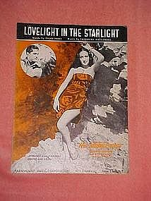 Lovelight in the Starlight, from Her Jungle Love 1937