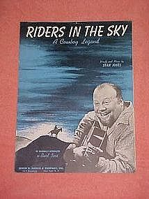 Riders in the Sky, Burl Ives cover 1949