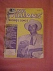 Hank Williams favorite songs folio 1953