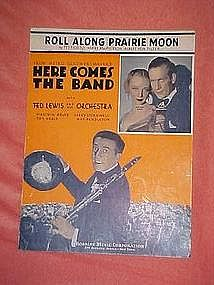 Roll along Prarie moon, from Here comes the band, 1935