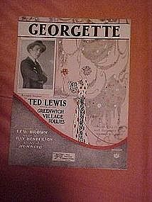 Georgette, from Ted Lewis' Greenwich Village Follies