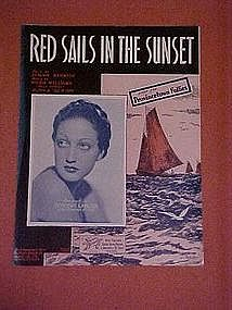 Red Sails in the Sunset, from the Provincetown Follies