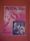 Peg O' My Heart, by Alfred Bryan and Fred Fisher 1947