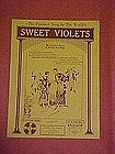 Sweet Violets, by Benny Samberg  Funniest song in......