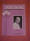 Trust in Me, music  1934