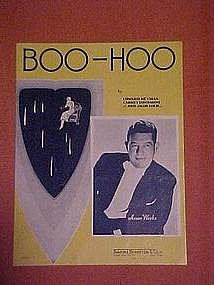 BOO-HOO,  with Anson Weeks cover photo 1937