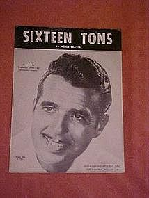Sixteen Tons, by Merle Travis 1947