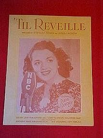Til Reveille, NBC  featuring Diane Courtney on cover