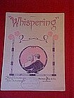 Whispering, by Malvin & John Schonberger