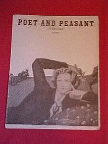 Poet and Peasant overture by Suppe 1905