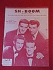 Sh-Boom (life could be a dream) by The Crew Cuts 1954
