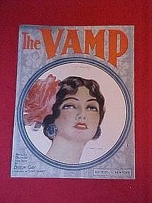 The Vamp, by Byron Gay 1918