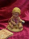 Growing up girls #1 yr, figurine, cake topper by Enesco