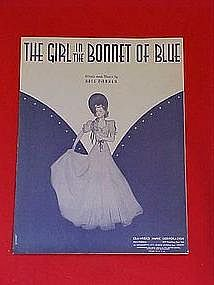 The girl in the bonnet of blue, by Ross Parker 1938