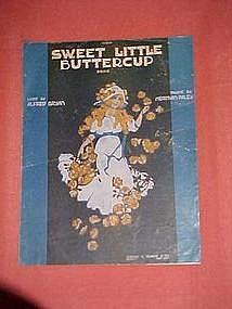 Sweet little Buttercup, by Alfred Bryan & Herman Paley
