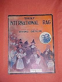 That International Rag, by Irving Berlin 1913