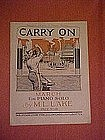 """Carry On"", music dedicated to General Pershing 1939"