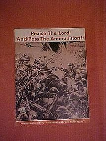 Praise the Lord and pass the ammunition!! WWII 1942