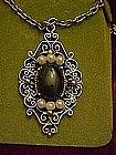 Vanderbuilt oriental jade pendant