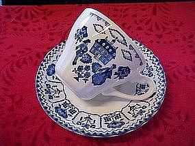 "J&G Meakin ""Sampler"" cup & matching saucer, England"