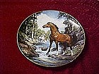 Royal Doulton Cool Creek Crossing, horse plate