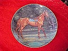 Danbury Mint Man o' War, collectors horse plate