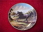 Royal Doulton Free as the Wind, collector horse plate