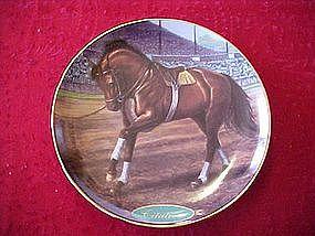 Danbury mint Citation, collectors horse plate