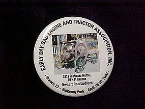 Early Day Gas Engine and Tractor Association button