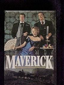 Maverick, movie promotional pin back button