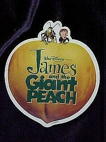 Disney's, James and the Giant Peach, pin back button