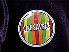 Life Savers, pin back advertising button