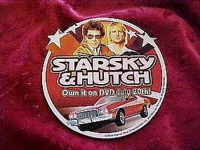 Starsky & Hutch DVD promo pin back button