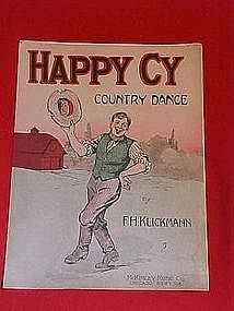 Happy Cy country dance, sheet music 1917
