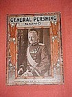 General Pershing Song, sheet music 1918