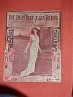 The Path that leads to you, music 1913
