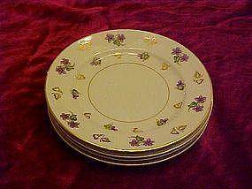 "Noritake Avalon  bread & butter plates, 6 3/8"""