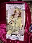 Christina Verdi porcelain doll, 2002 MIB