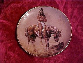 Spirit of the Desert, Hermon Adams collector plate