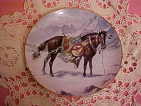 Gentle Warrior, A Nez Perce' War Pony by Perillo