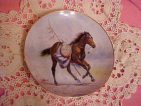 Free Spirit, A Crow War Pony, by Perillo