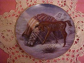 Silent Light, Perillo Christmas plate 1988