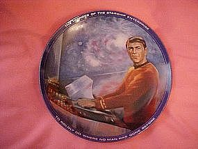 Star Trek Scotty  plate, by artist Susie Morton