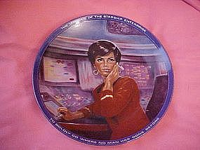 Star Trek Uhura, collector plate by Susie Morton