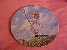 Little Bo Peep, Classic Mother Goose collector plate