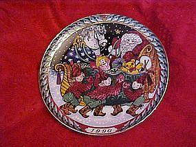 Santa's Sleigh, Bing & Grondahl, Hans Henrik Hansen