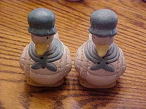 Mother Goose salt and pepper shakers