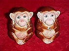 Monkey  salt and pepper shakers